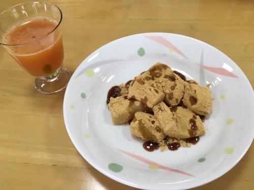 わらび餅作り2